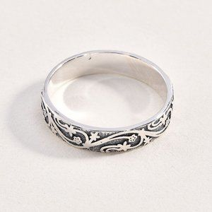Sterling 925 Vine Pattern Ring